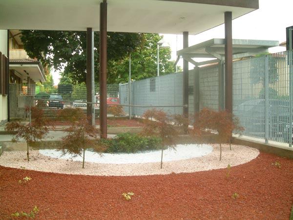 Decorazione giardino condominiale - Giardino condominiale ...